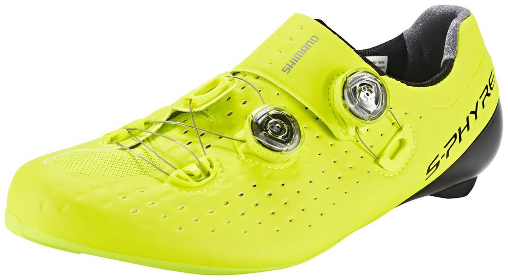 Chaussures Jaunes Shimano Pour Les Hommes 1TdJXWAe